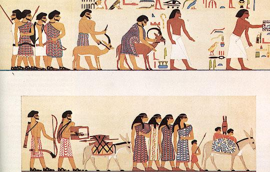 Сколько лет евреи были в Египте?