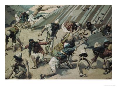 Сколько раз роптали евреи в пустыне?