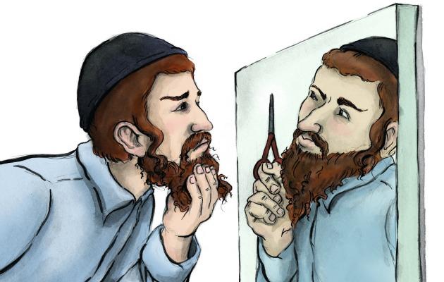 Почему евреи бороду отпускают?