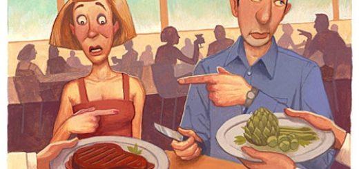 Лучше есть животную или растительную пищу?