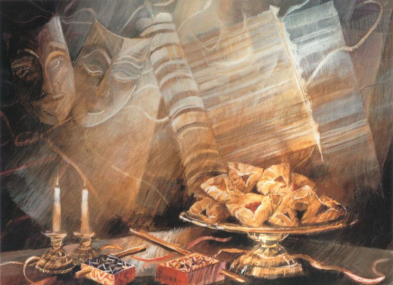 """Пурим и """"скрытый"""" Бог Израиля"""