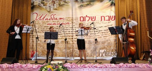 Пурим-2014 в Виннице: концерт еврейской музыки и фуршет