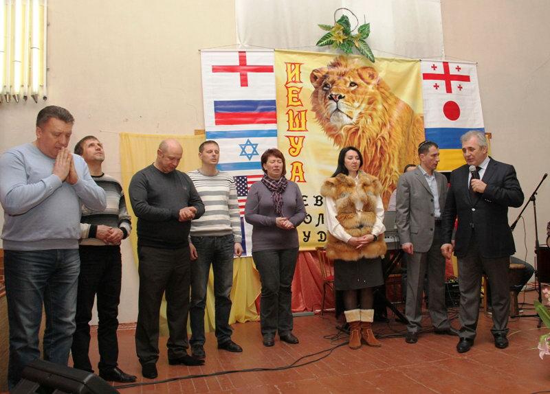 Донецк присоединился к международной молитве против антисемитизма