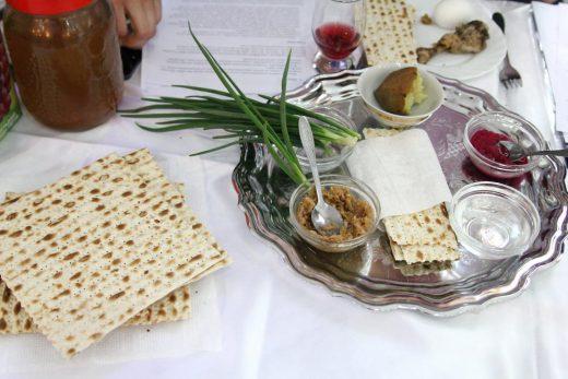 Седер Песах в еврейской мессианской общине Винницы
