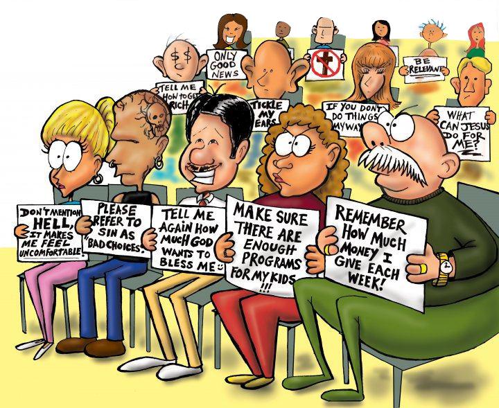льстящие слуху проповедники