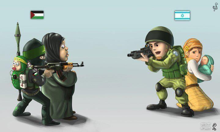 Шесть причин гибели невинных палестинцев