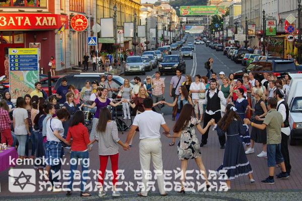 Молодёжные мессианские эрев-шаббаты на Подоле, Киев (фото)