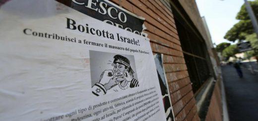 Жителей Рима призвали бойкотировать магазины евреев