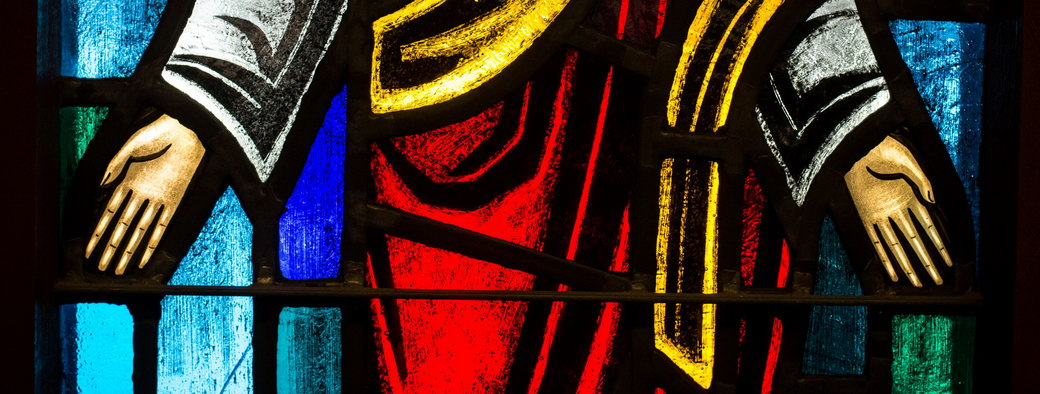 Jesus-Stained-Glass-Religious-Stock-Image