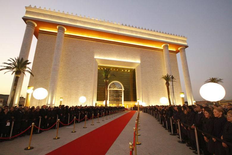 В Бразилии состоялось открытие «храма царя Соломона»