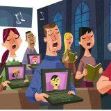 Немного об интернет-учениях и виртуальных церквах