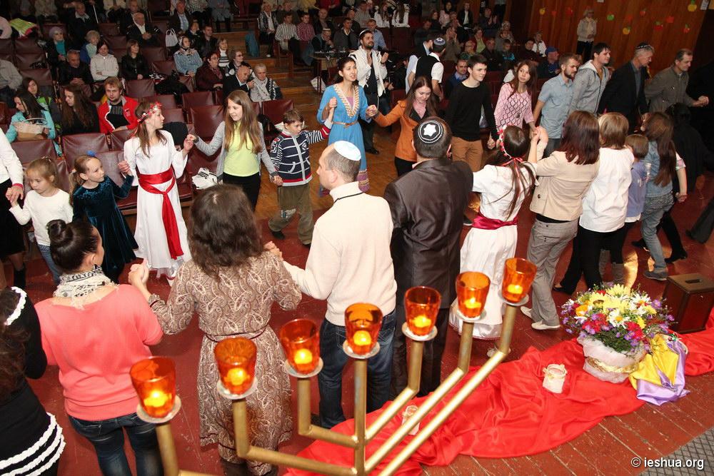 Новогодний мессианский шаббат в Виннице. Фоторепортаж