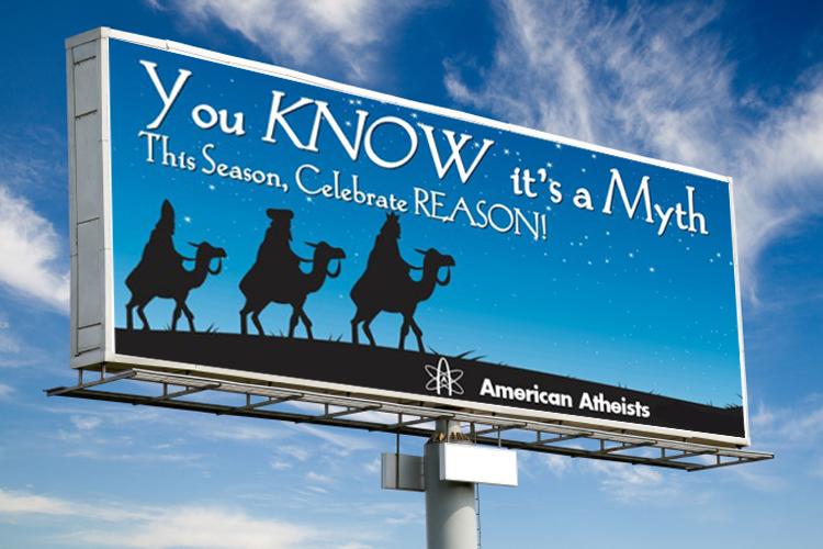 «Атеисты Америки» объявили рекламную войну Рождеству