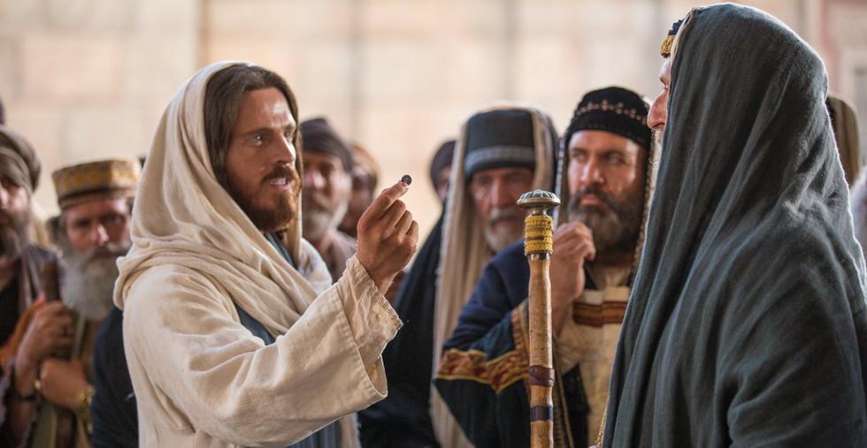 Иисус с фарисеями