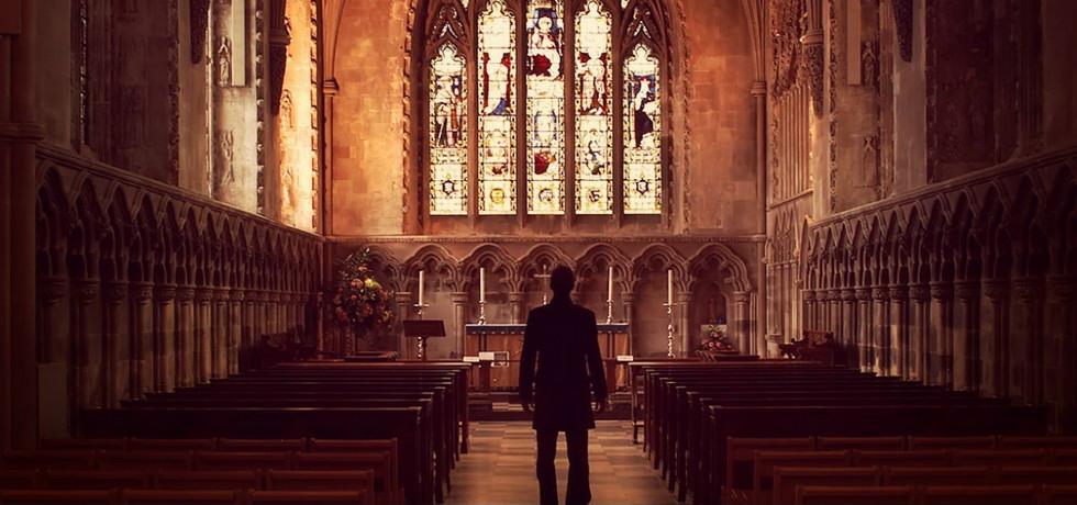 мужчины не хотят быть в церкви