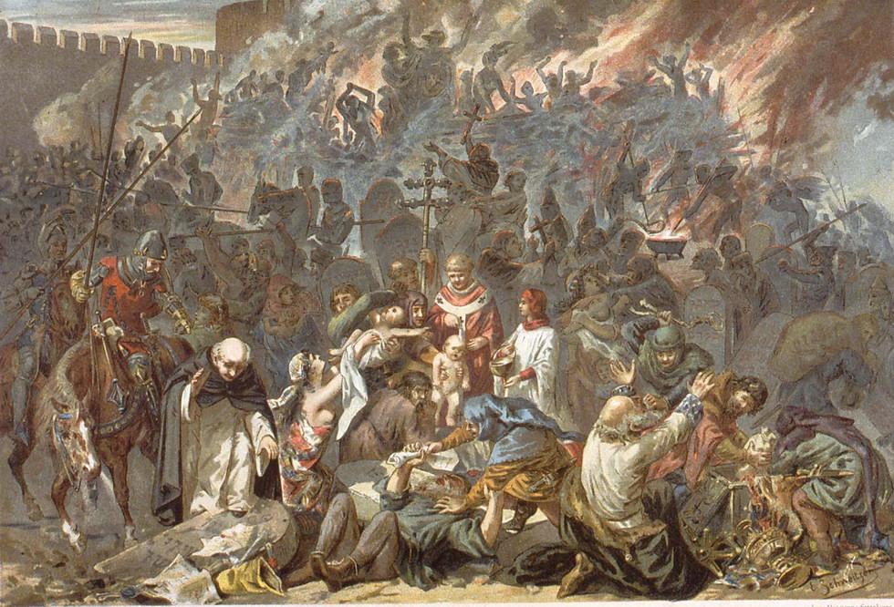 погром в Страссбурге, 1349 г.