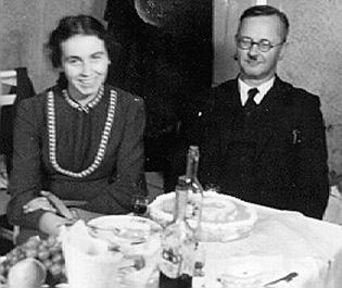 Теофил Бургшталер и его дочь Ханна