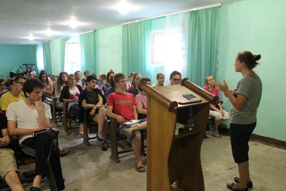2-7 августа - Молодёжная молитвенная школа под Бердичевом. Приглашаем!