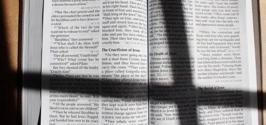 Прекратите вот так читать Библию