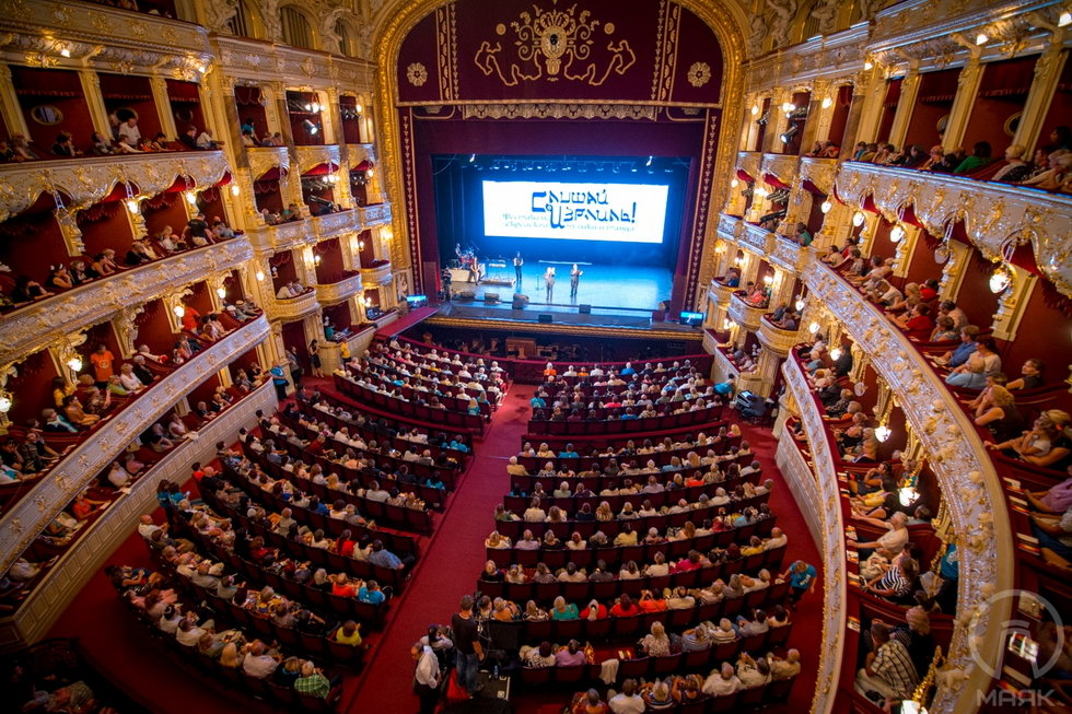 Фоторепортаж с фестиваля «Шма, Израэль!» в одесском Оперном театре