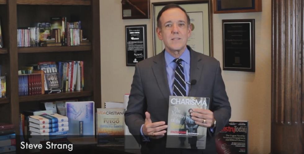 Стив Стренг (Steve Strang) — главный редактор и издатель журнала Charisma
