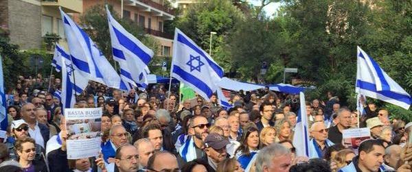 Жители Парижа, Рима и Мадрида вышли на митинги в поддержку Израиля