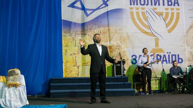 В Киеве прошла Ежегодная межцерковная молитва за Израиль. Фото