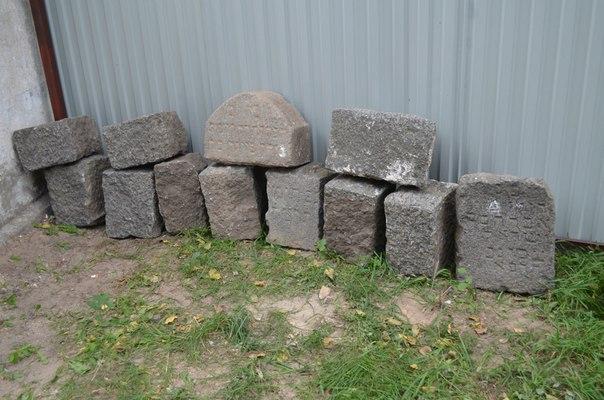 """""""Время собирать камни"""": в Белой Церкви восстановили камни с еврейского кладбища"""