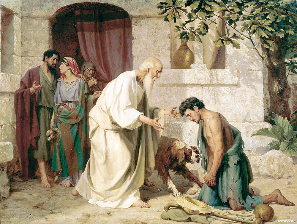 Папа Франциск: Три сына из притчи о милосердном отце