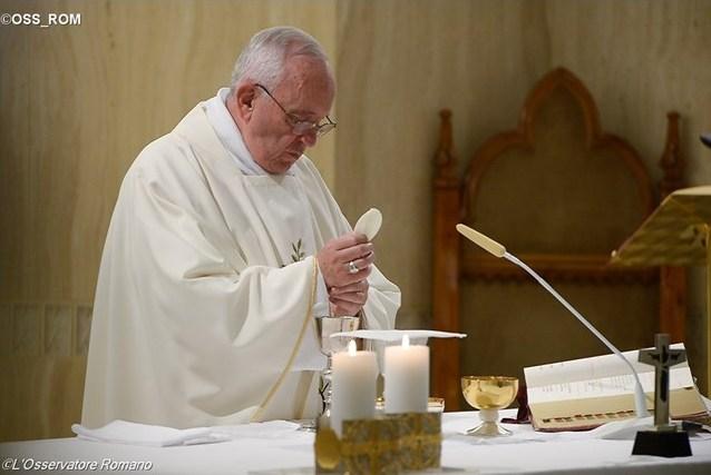 Папа Франциск: Церковью управляет не закон, а послушание Святому Духу