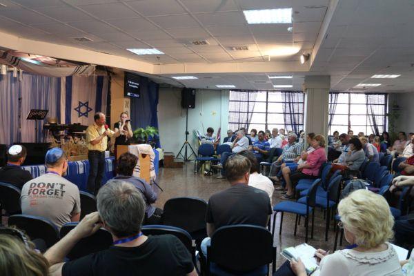 12-14 мая в Израиле состоялся мессианский ретрит. Фото