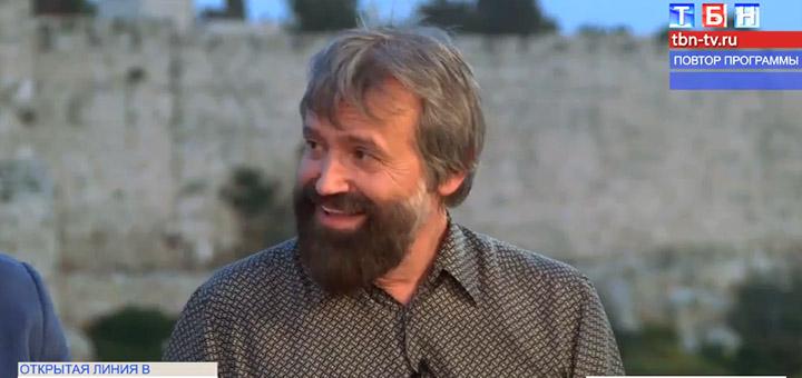 Борис Грисенко в передаче «Сила воскресения из Иерусалима», ТБН