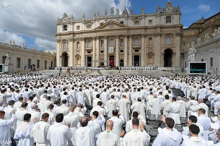 Папа - священникам: ради вашей паствы идите на риск, дабы никто не потерялся