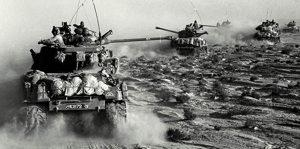 Sechs-Tage-Krieg 1967: Israelis auf dem Sinai