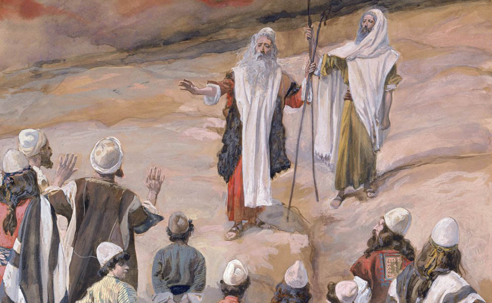 Moses Forbids People to Follow Him