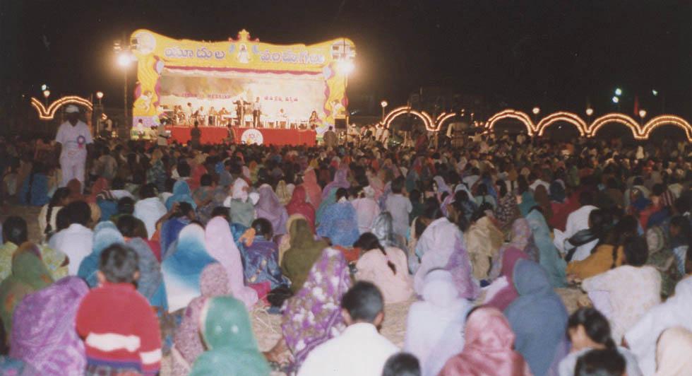 """Фестиваль """"Слушай, Израиль"""", Виджаявада, Индия, 2000 год"""