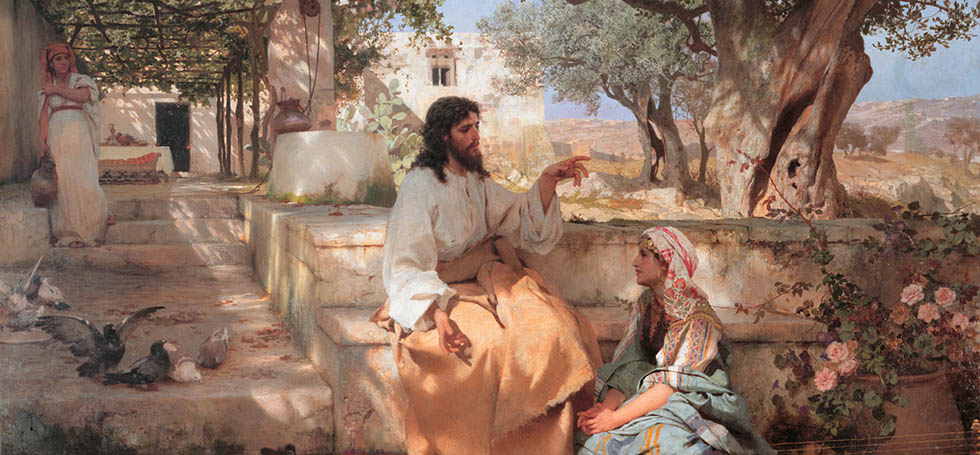 Christ with Martha and Maria, by Henryk Siemiradzki