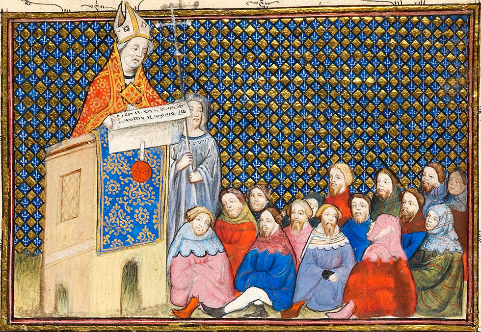 an overview of the historical relationship between the church and the state in the middle ages Before examining the catholic church's relationship with the jews in the middle ages, it would be worthwhile to state an obvious yet often overlooked fact: the middle ages were, well, medieval it.