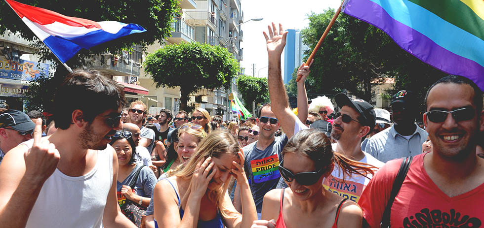 Gay Pride Parade Tel Aviv June 07/2013