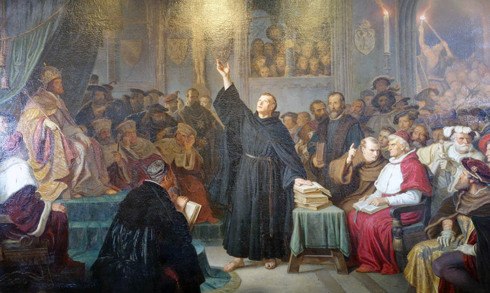 Luther at Worms