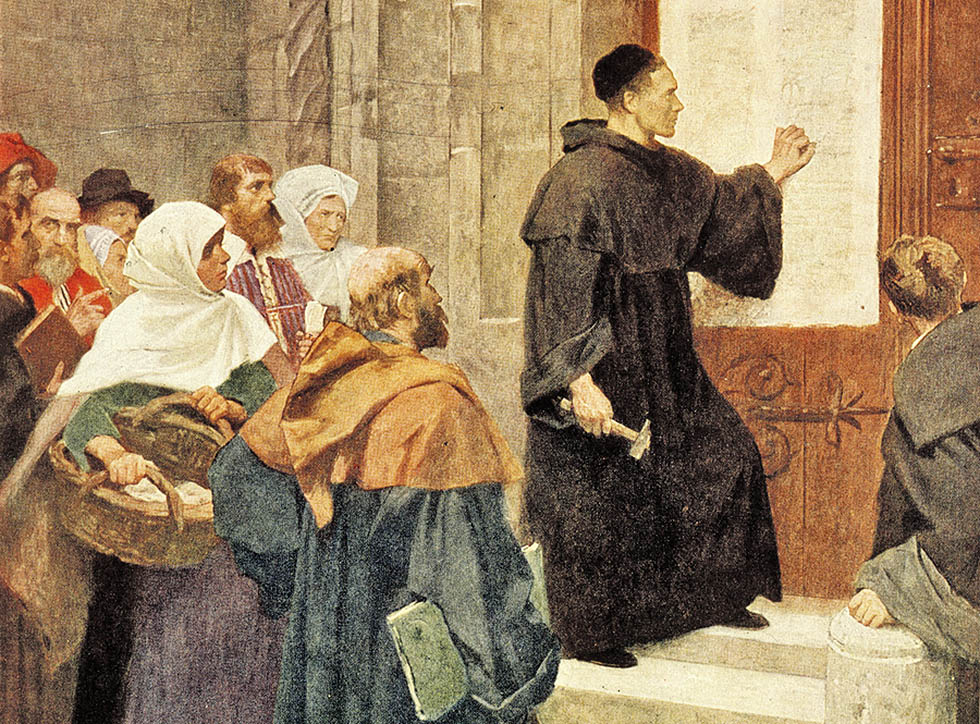 martin luther thesises Out of love for the truth and the desire to bring it to light, the following propositions will be discussed at wittenberg, under the oversight of the reverend father martin luther, master of arts and sacred theology, and lecturer on these subjects at wittenberg.