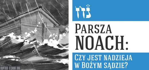 Parsza Noach: Czy jest nadzieja w Bożym sądzie?