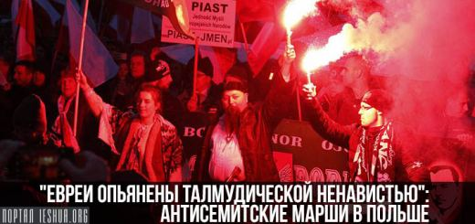 """""""Евреи опьянены талмудической ненавистью"""": антисемитские марши в Польше"""