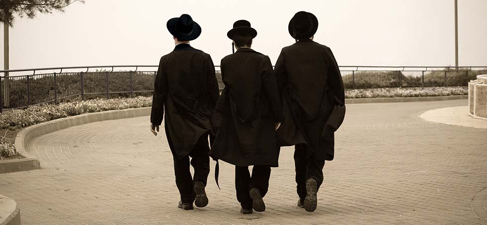 Three Hasidic Jews