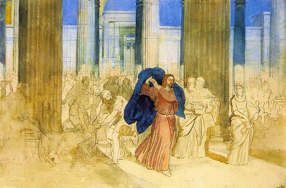 Изгнание торгующих из храма (Александр Иванов, 1806-1858)