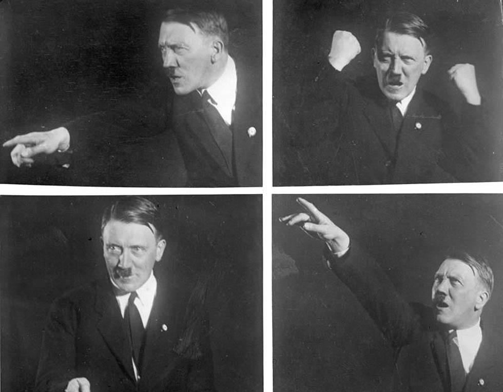 Adolf Hitler, Rednerposen