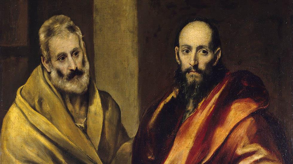 El Greco: Saints Peter and Paul