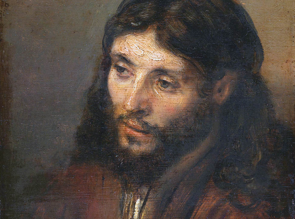 Head of Christ, by Rembrandt, 1648