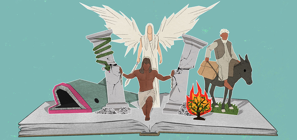 Говорящие ослицы и горящие кусты: сказка или Слово Божье?