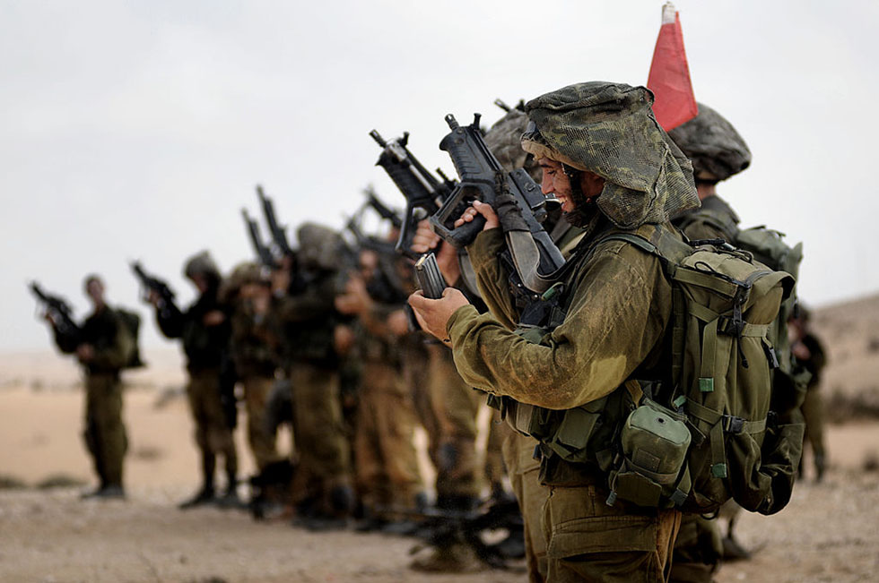 photo - Israel Defense Forces, Givati Recon Company at Training, Aug 2009